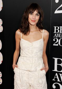 earlysunsetsovermonroeville:  Alexa Chung attends The Brit Awards 2013 at The O2 Arena on February 20, 2013 in London, England.