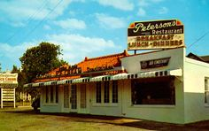 Peterson's Restaurant in Red Bank NJ  1960's
