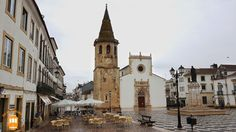 In the historic centre of Tomar and some minutes away from the Convent of Christ, you can find the beautiful Church of St. John the Baptist.