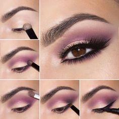 Makeup Artist For Home, Eyeshadow Tutorial For Hazel Eyes Step By Step lot Trend… – Make Up Time Purple Eyeshadow Looks, Purple Eye Makeup, Yellow Eyeshadow, Gold Makeup, Makeup Inspo, Makeup Inspiration, Makeup Ideas, Makeup Tips, Makeup Hacks