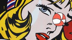 PBS Pop Art in the 60s: Roy Lichtenstein episode opening sequence and ad.