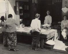 Winkel in de Chineese wijk te Semarang, Java, Indonesië (1933)