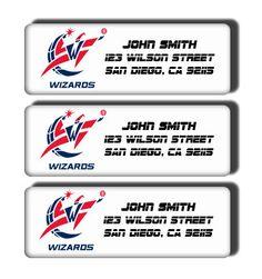 Washington Wizards NBA Basketball Team  Custom by DreamLabels, $5.00
