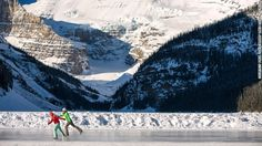 Snow-capped mountains surrounding a glacier-fed lake ... there's a reason Banff's Lake Louise is on so many Canadian postcards. Lake Louise ...
