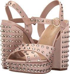 ALDO Women's Britain Light Pink Sandal Aldo