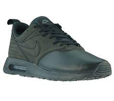 NIKE Air Max Tavas Leather Herren Sneaker Schwarz 802611 001, Größenauswahl:42