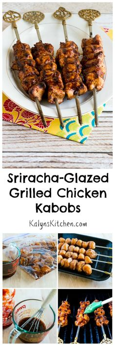 When I traveled to Turkey I bought the lovely skewers I used to make these…