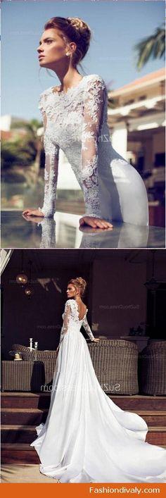 acb9622b474f6 Wedding dresses 2018 love my wedding dress style see more www.fashiondivaly.