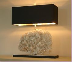 Share Tweet + 1 Mail As of late, I have developed a design crush on rock crystal lamps. It seems like I am seeing these ...