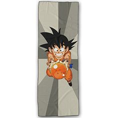WuliNN Dragon Ball Z Son Goku Super Absorbent Microfiber Non Slip Yoga Towel Hot Yoga Towel 72  24 Inch -- Read more  at the image link.