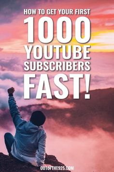 How to get your first 1000 YouTube Subscribers FAST! These 15 best practices & top tips will guide you on your journey to reaching 1000 YouTube subscribers & beyond! Expand your YouTube reach & get more viewers and targetted subscribers to your channel with these YouTube tips & tricks. #YouTube #YouTuber # YouTubeTips #YouTuberTips | Outofthe925.com