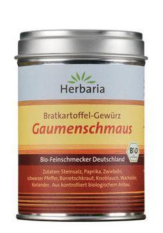 Bio Bratkartoffelgewürz Gaumenschmaus von Herbaria