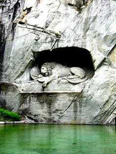 lion monument - Lucerne, Switzerland