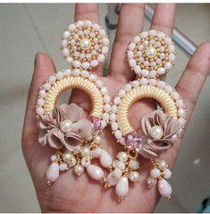 Black Earrings, Circle Earrings, Unique Earrings, Tassel Earrings, Trendy Jewelry, Simple Jewelry, Gold Jewelry, Jewelry Making, Jewels