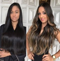 2020 Online Wigs For White Women Bobbi Boss Keeshana Steel – krlly Brown Hair Balayage, Brown Blonde Hair, Hair Color For Black Hair, Brunette Hair, Hair Highlights, Dark Hair, Brown Highlights, Black Hair With Ombre, Bayalage