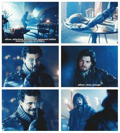 The Musketeers - 1x01 - Friends and Enemies (Athos gives a lesson on chivalry)