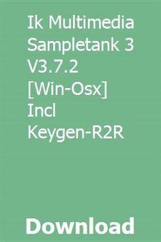 Ik Multimedia Sampletank 3 V3.7.2 [Win-Osx] Incl Keygen-R2R download online full Multimedia, Coding, Programming