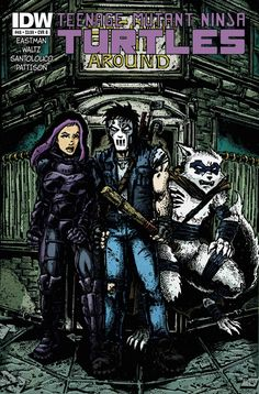 Casey prepares for a final showdown with Hun as the Purple Dragons run amok. Meanwhile the TMNT struggle to reunite as a family while a greater threat looms... what is THE STOCKMAN SWARM? Comic book.