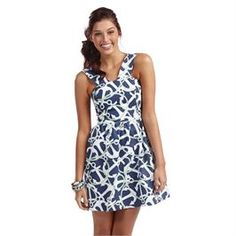 Charlotte Dress Navy | What a Cute Outfit For Summer! | Fashion | Mud Pie | $24.99
