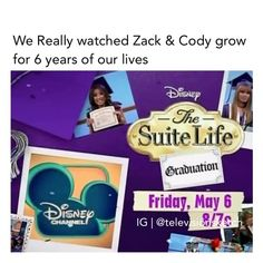 """@televisionsketch on Instagram: """"ᖴOᒪᒪOᗯ ᗰE👉(@televisionsketch) ᖴOᖇ ᗰOᖇE ——————————————— - - - - - - - - - #thesuitelife #suitelife #thesuitelifeofzackandcody…"""" Zack E Cody, Suite Life, Disney Channel, Our Life, 6 Years, Childhood, Instagram, Infancy, Childhood Memories"""