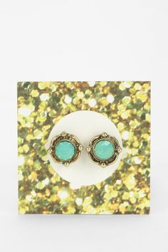 Urban Outfitters Moonstone Gift Card Earring