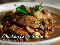 How to Cook Chicken Liver Sauté (Guisadong Atay ng Manok) – Recipes Chicken Liver Recipes, Chicken Liver Pate, Onion Recipes, Meat Recipes, Cooking Recipes, Healthy Recipes, Recipies, Dinner Recipes, Fried Chicken Livers