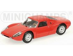 The Porsche 904 GTS 1964 Red is a diecast model in 1/43 scale and is part of the Minichamps Road Car Collection.