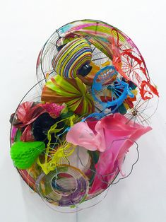 Sculpture — Judy Pfaff Contemporary Abstract Art, Contemporary Sculpture, Modern Art, Sculpture Art, Sculptures, A Level Textiles, Gcse Art, Car Park, Art And Architecture