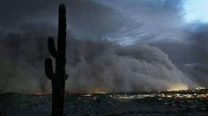 Storm over Yuma, Arizona 9/9/2012