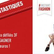 Prochainement la capitale de la mode se trouve aux 3 Fontaines !  Et qui dit mode, dit défilés ! Les 3 Fontaines vous invitent à participer aux défilés de mode qui auront lieu  les samedi 10 et 17 octobre 2015.