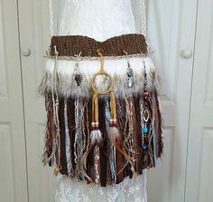 Native American Indian Inspired Fringe Bag  Bohemian Gypsy