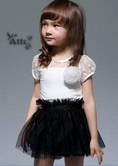 Wholesale-5-pcs-lot-2012-summer-new-children-s-veil-black-and-white-girls-dress-for_original