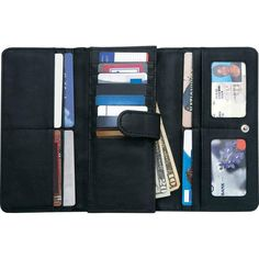 Ladies' Solid Genuine Leather Wallet with RFID Security #Embassy