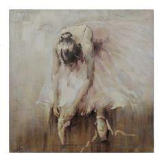 Ballerina Canvas Art   Kirklands