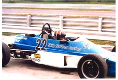 Yours truly at Skip Barber Racing School, Lime Rock Park, 1989 Formula Ford.
