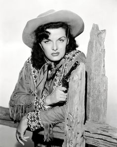 Jane Russell as Calamity Jane in The Paleface, 1948.