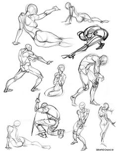 Life drawing figures references