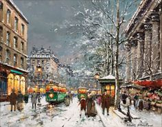 Antoine Blanchard; I have several prints and just love them!