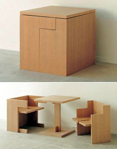 Multi-Purpose Convertible Furnitures for small spaces