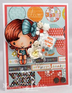 Melissa Made: The Greeting Farm Blog Hop for the New Release!