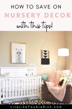 I love Llamas and Alpacas. I am actually happy that they are on-trend right now as I was able to put this Baby Girl Llama Alpaca Nursery together very easily! I'm sharing how I save hundreds in furnishing and decorating this nursery room.