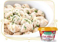 Ñoquis Finlandia Jamón y Parmesano La Serenísima