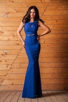 Rochie de ocazie lunga tip sirena Novia Albastra - MuJeR.ro http://www.mujer.ro/rochie-de-ocazie-lunga-tip-sirena-novia-albastra