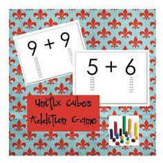 unifix cubes addition