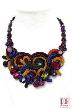 statement necklaces : Elektra Statement Necklace