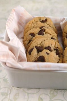 Best Chewy Chocolate Chip Cookies - Gluten Free  Dairy Free. @Leigh Ann Krasner