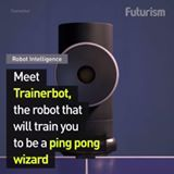 Become a ping pong master with this awesome training robot.