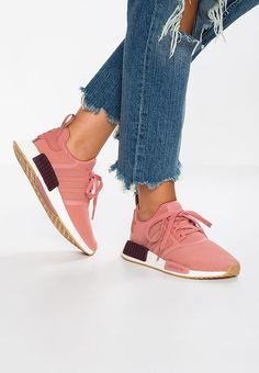 Bestill  adidas Originals NMD_R1 - Joggesko - raw pink/footwear white for kr 1395,00 (19.10.17) med gratis frakt på Zalando.no