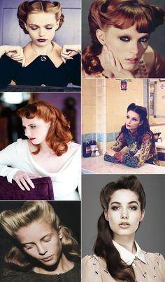 54 Best Vintage Hair And Hairstyles Images Vintage