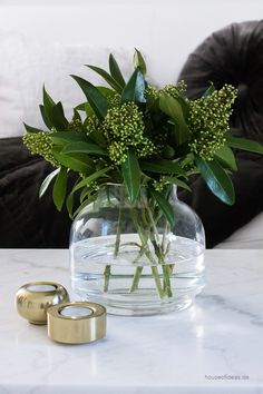 "Glass vase ""JASMIN"""